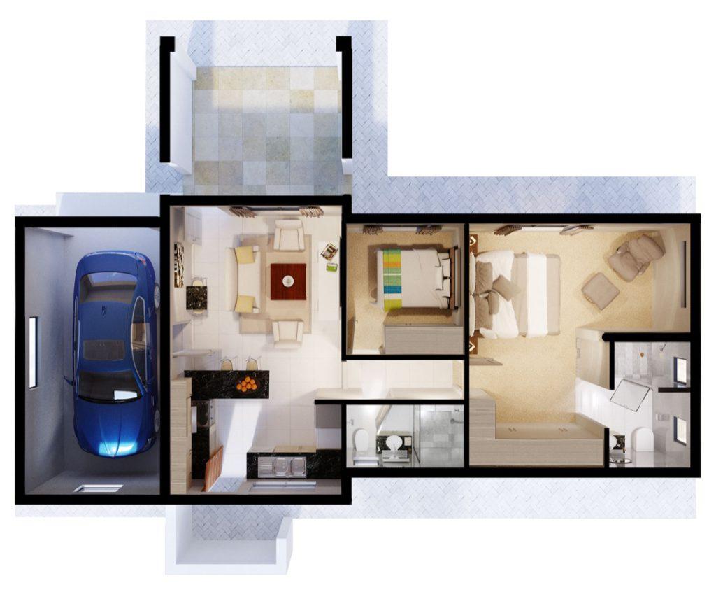 Wigwam 2 Bedroom and Garage