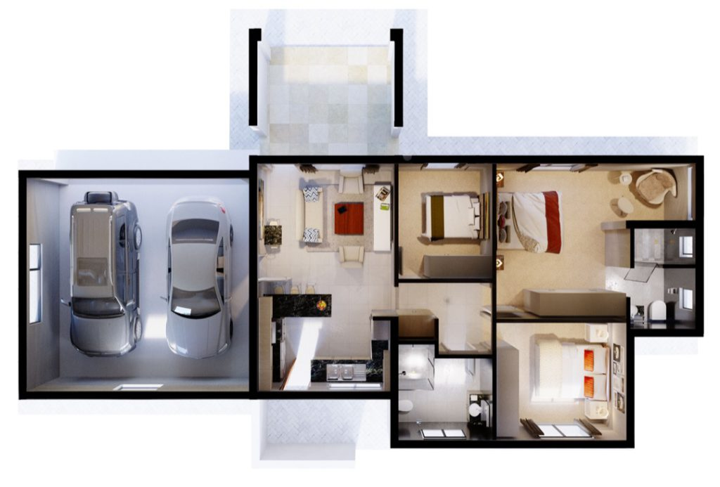 Wigwam 3 Bedroom Double Garage