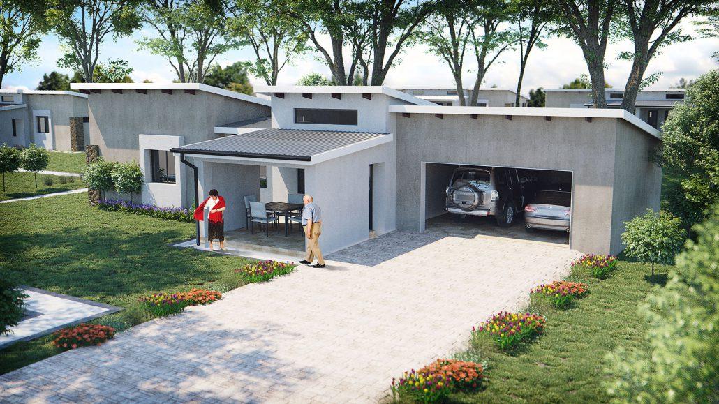 Wigwam 3 Bedroom Suite Garage