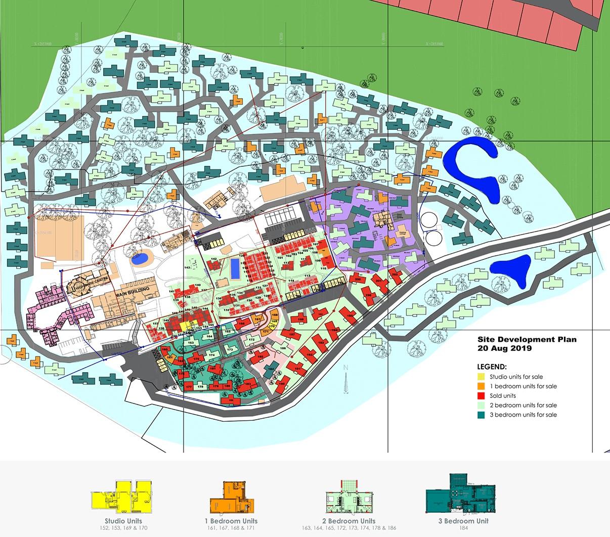 Wigwam Site Plan